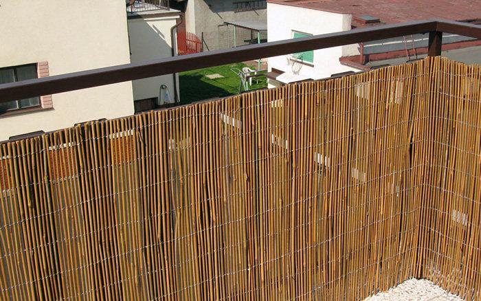 Rohože na zeď, plot