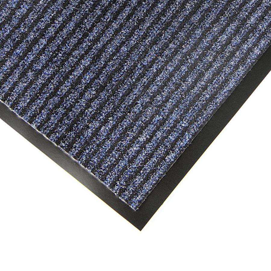 Modrá textilní vstupní rohož Favorit - délka 40 cm, šířka 60 cm a výška 0,76 cm