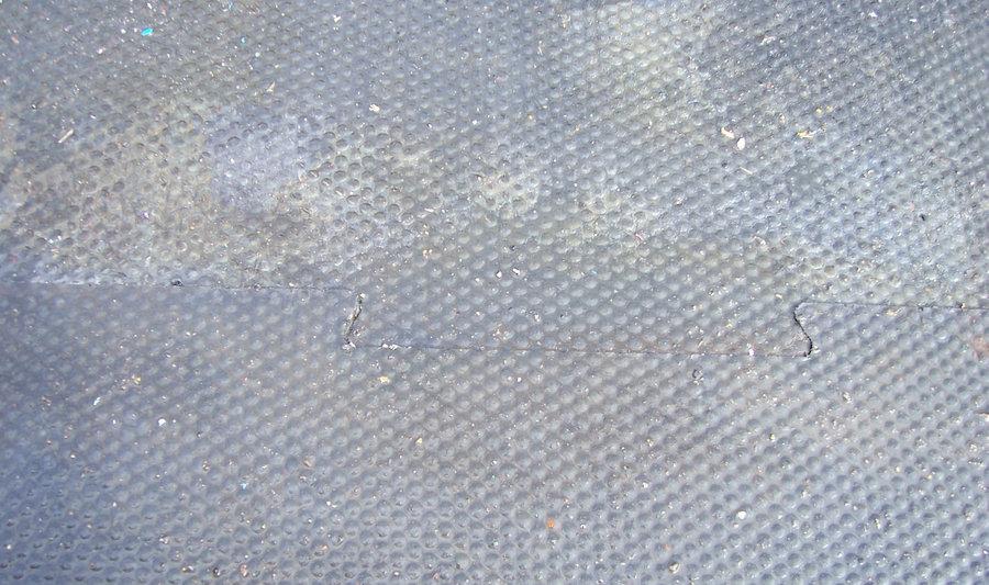 Plastová podlahová kuličková hladká deska - délka 116 cm, šířka 79 cm a výška 1,2 cm