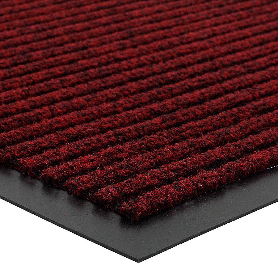 Červená čistící vnitřní vstupní rohož Everton, FLOMA - výška 0,6 cm