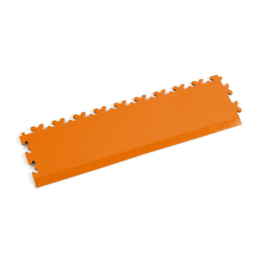 Oranžový plastový vinylový nájezd 2025 (kůže), Fortelock - délka 51 cm, šířka 14 cm a výška 0,7 cm