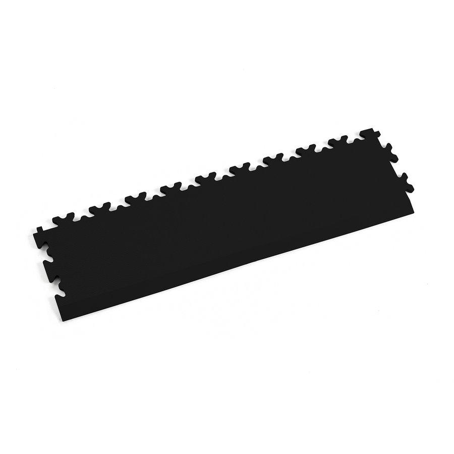 Černý plastový vinylový nájezd 2025 (kůže), Fortelock - délka 51 cm, šířka 14 cm a výška 0,7 cm