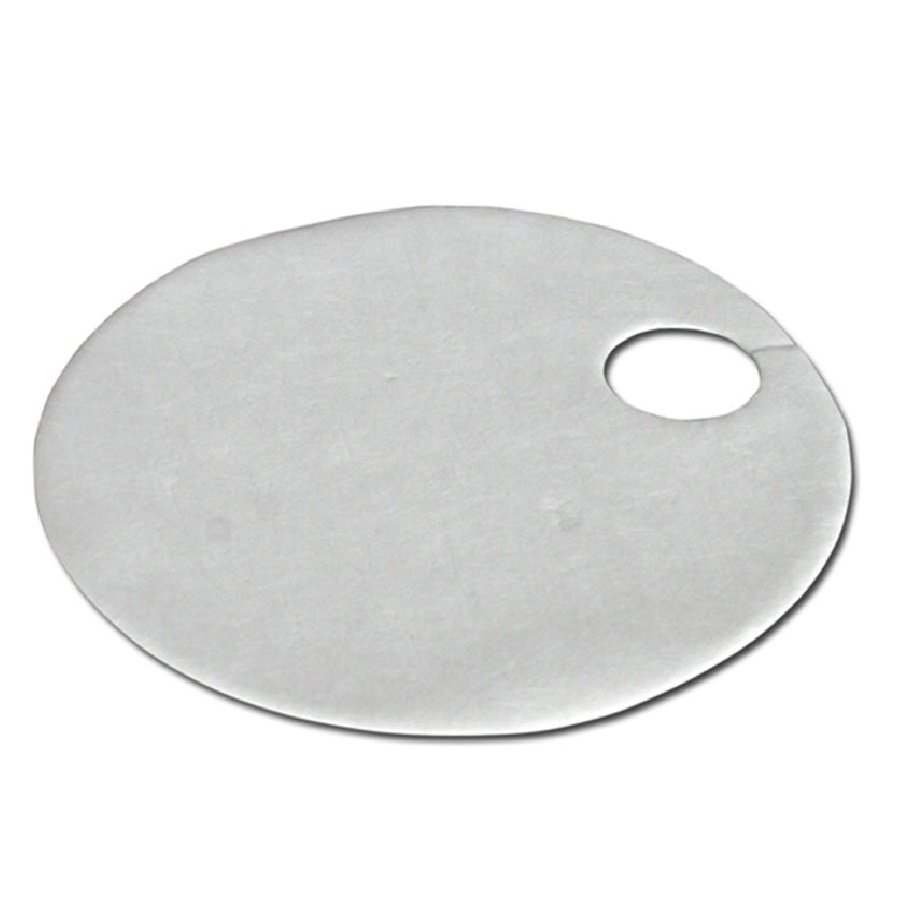 Hydrofobní sudová sorpční rohož - průměr 557 mm - 15 ks