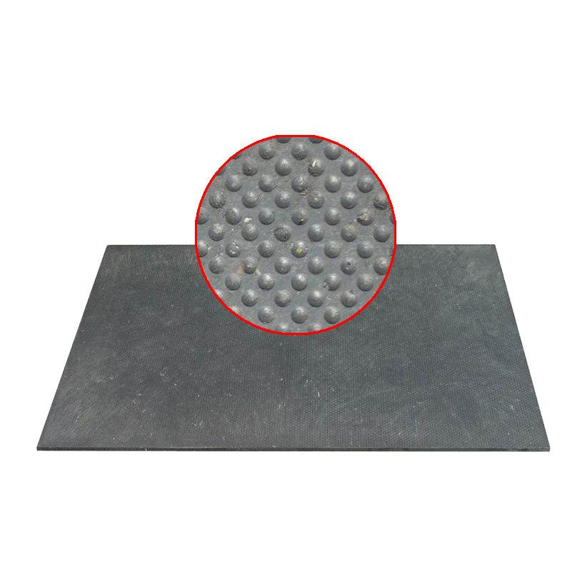 Plastová kuličková hladká podlahová deska - délka 120 cm, šířka 80 cm a výška 1,2 cm