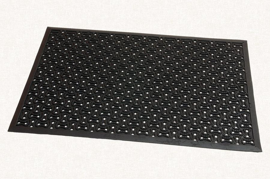Gumová čistící vstupní rohož Scrapy - 60 x 90 x 0,8 cm