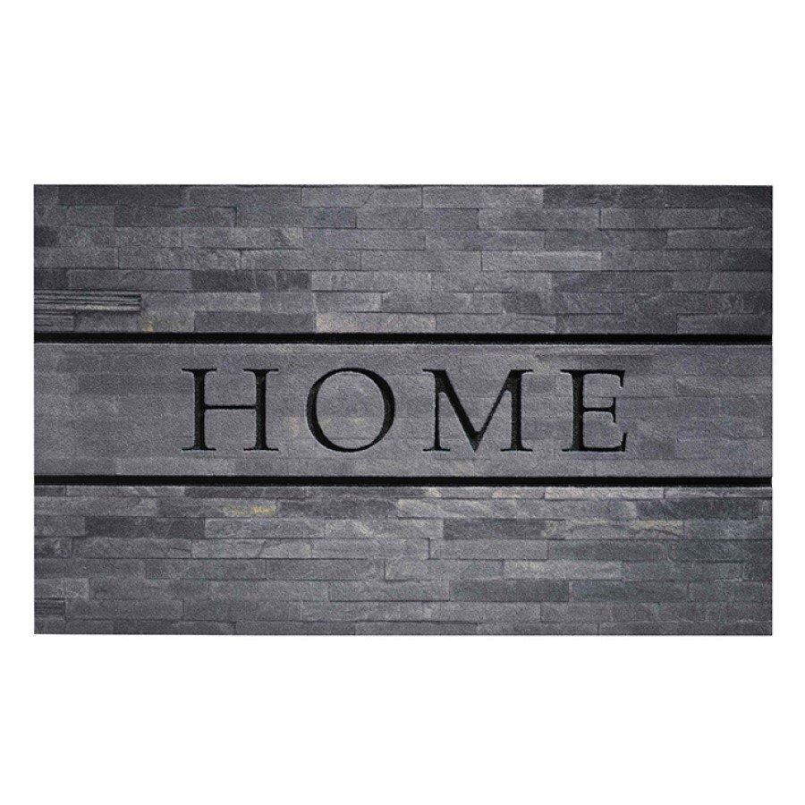 Venkovní vstupní čistící rohož Residence, Home Stones, FLOMA - délka 45 cm, šířka 75 cm a výška 0,9 cm