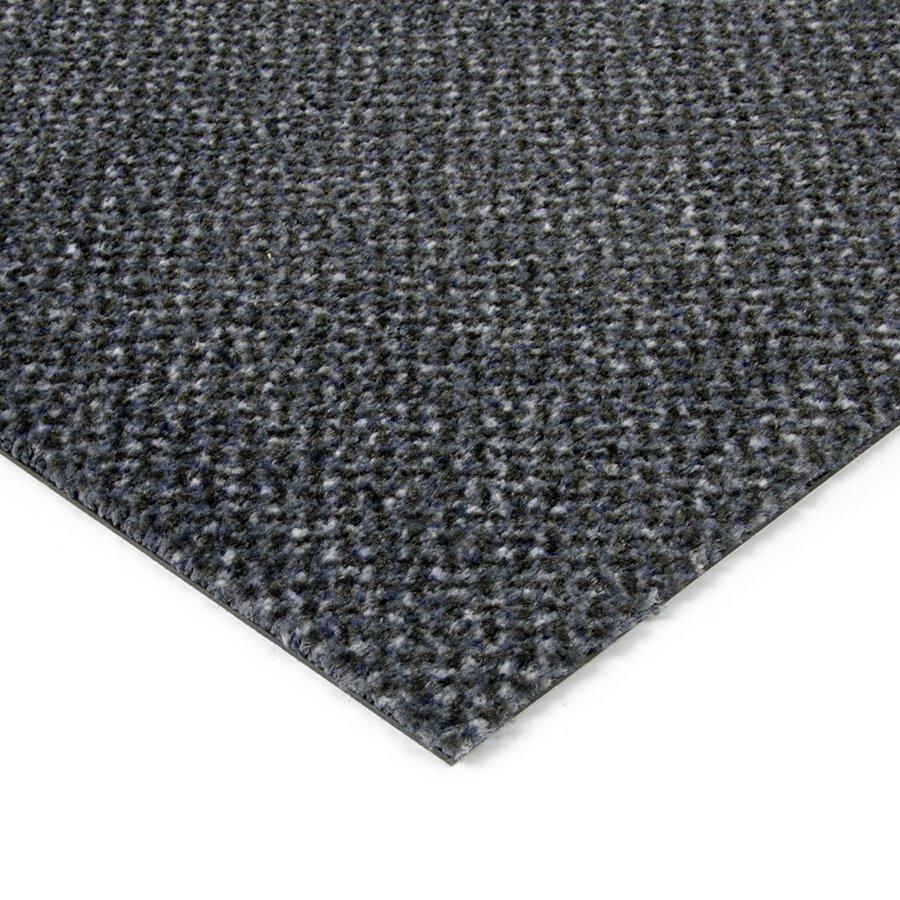 Modrá kobercová vnitřní čistící zóna Cleopatra Extra, FLOMAT - výška 1 cm