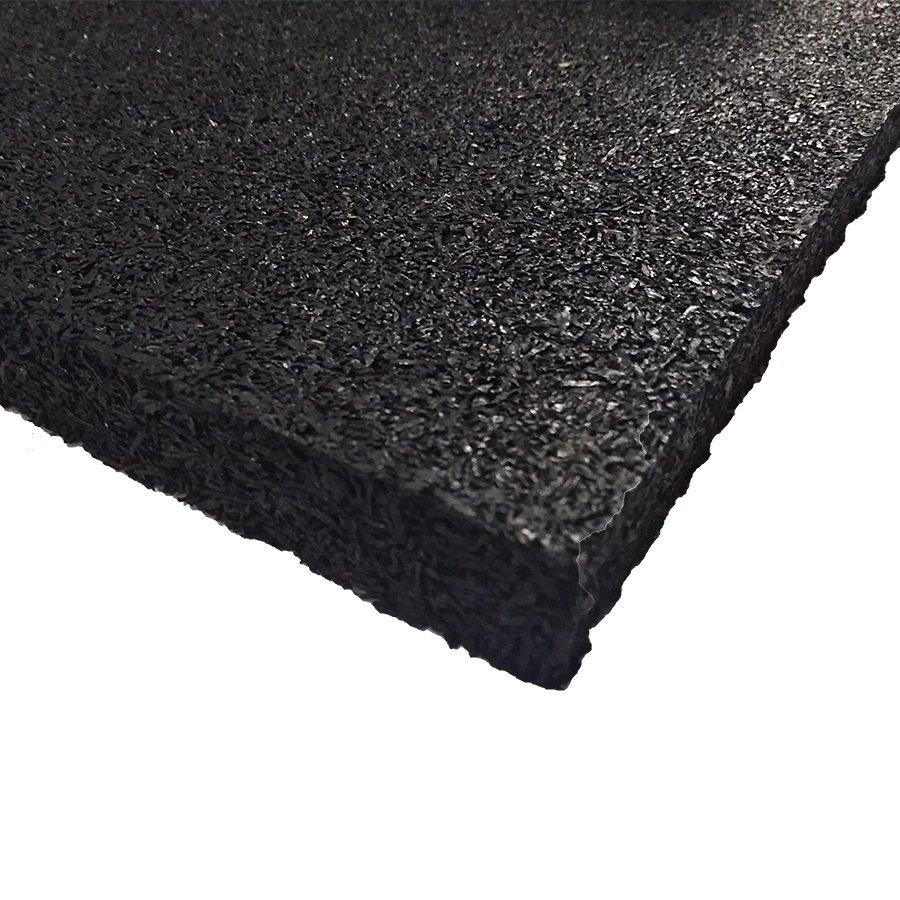 Výprodej - 59109 Antivibrační elastická tlumící rohož (deska) z drásaniny F700, FLOMA - délka 200 cm, šířka 100 cm a výška 1 cm