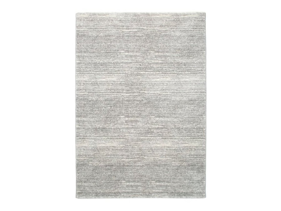 Šedý kusový koberec běhoun Shaggy s vysokým vlasem Loftline - délka 300 cm a šířka 80 cm