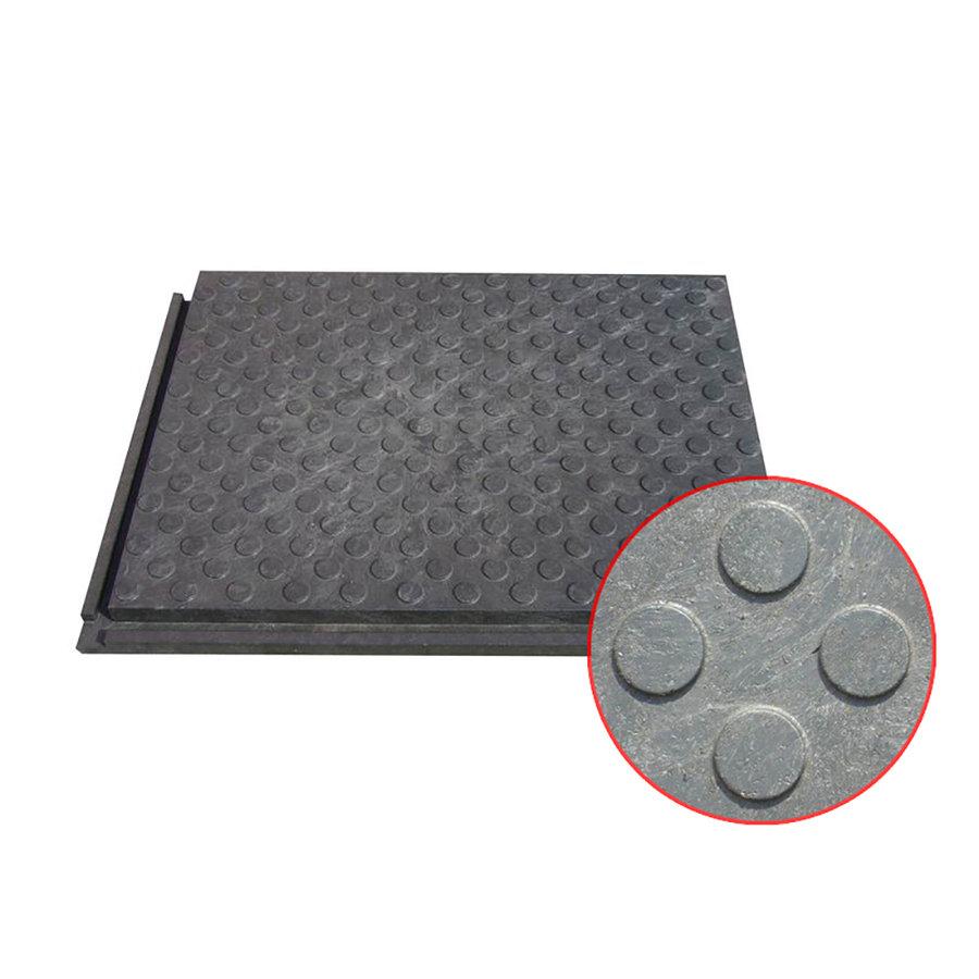 Plastová podlahová zátěžová deska - délka 80 cm, šířka 60 cm a výška 4,3 cm