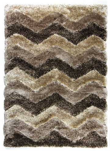 Hnědý kusový koberec Istanbul - délka 170 cm a šířka 120 cm