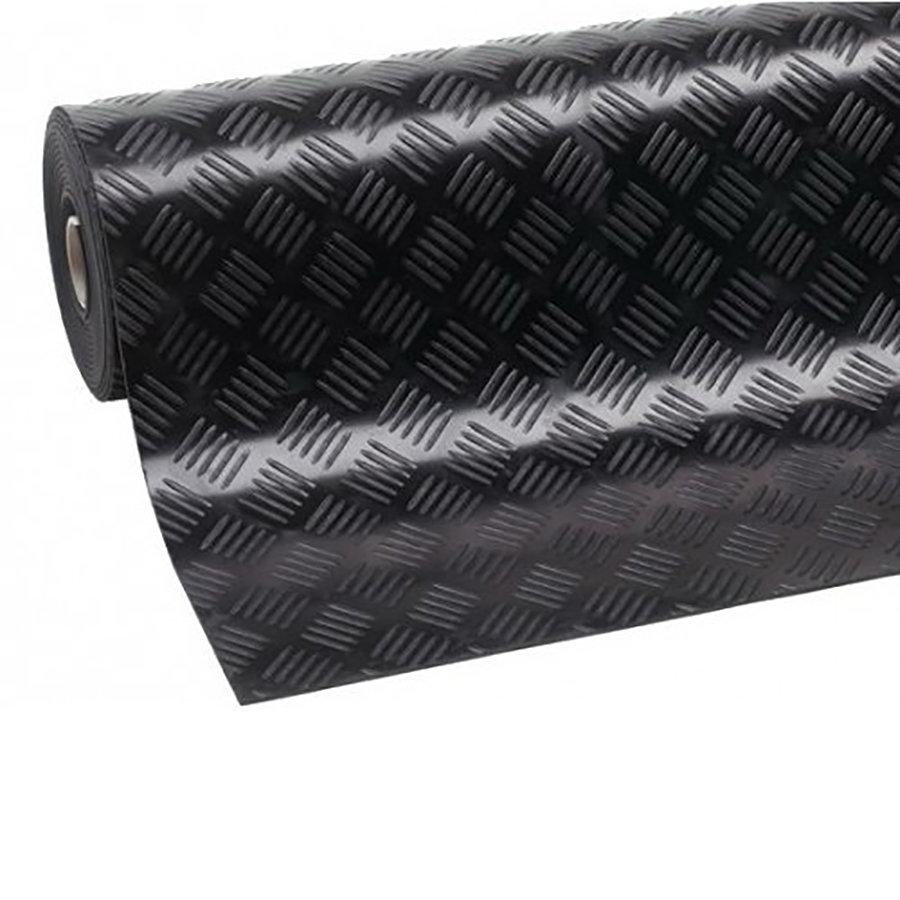 Protiskluzová průmyslová podlahová guma Checker - šířka 125 cm