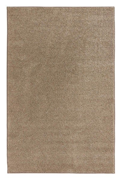 Hnědý kusový koberec Pure