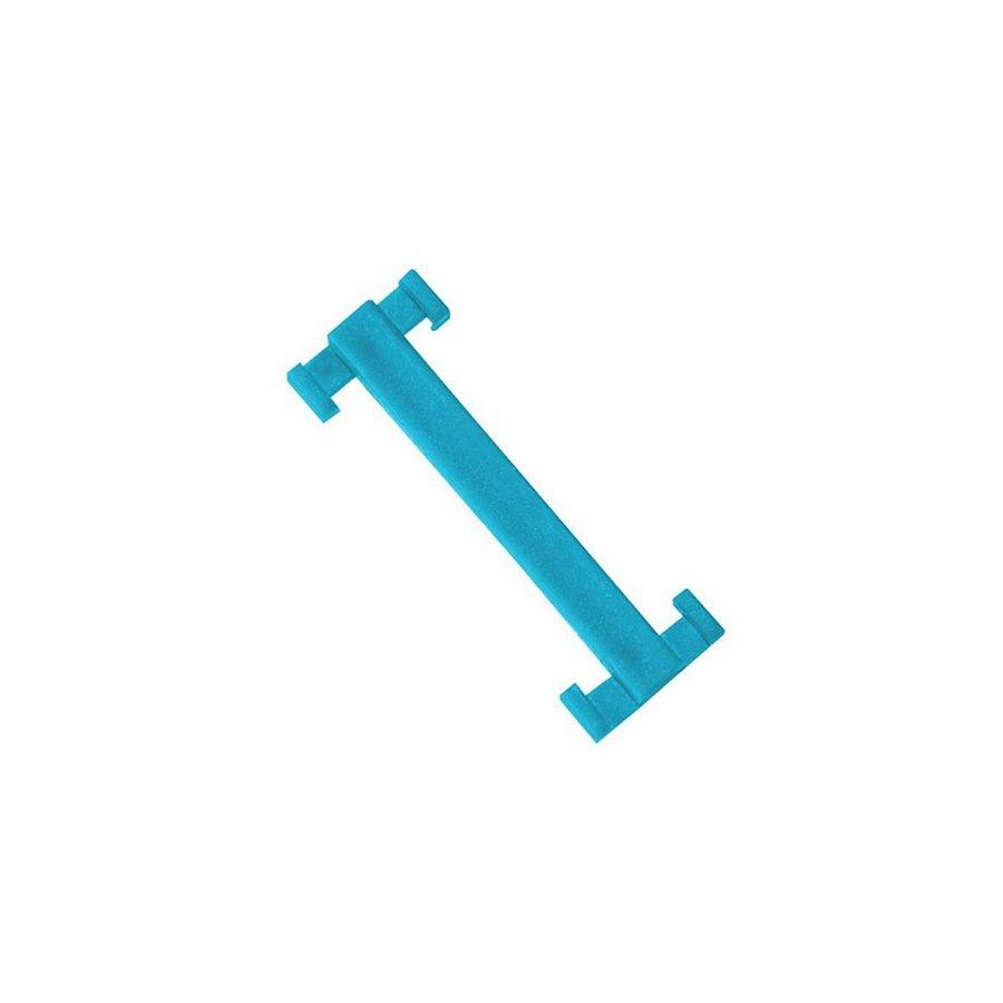 Modrá plastová spojka pro rohože Soft-Step - 4,5 x 1,5 - 10 ks
