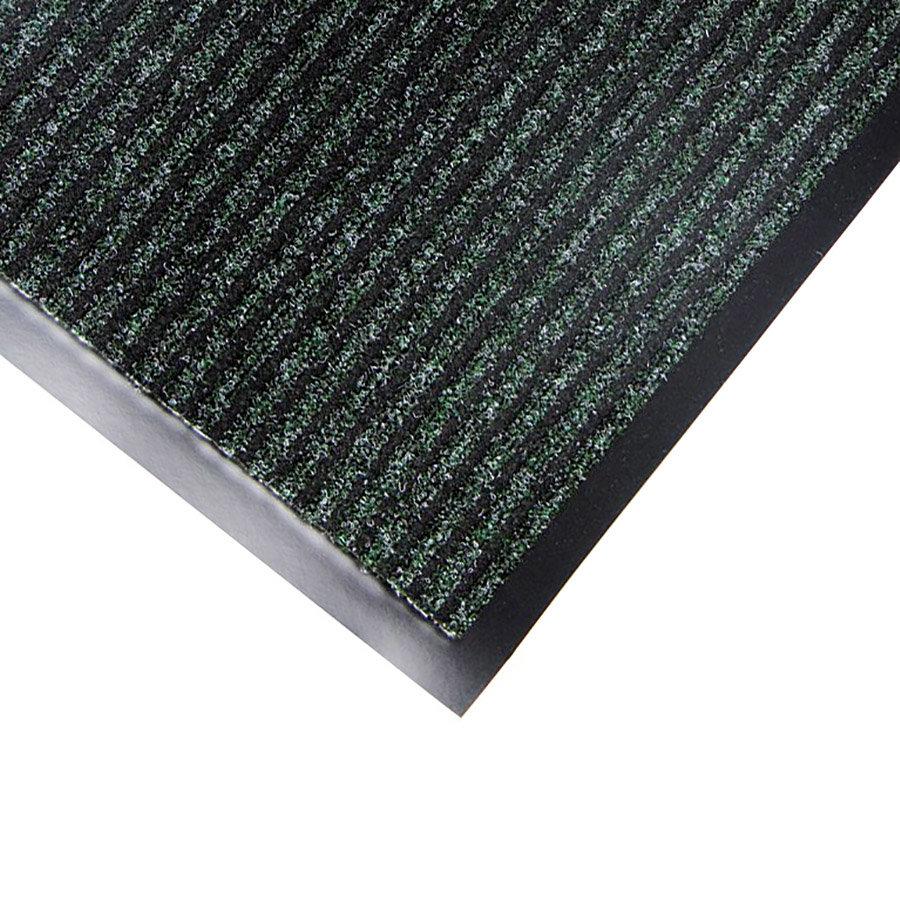 Zelená textilní vstupní rohož Favorit - délka 40 cm, šířka 60 cm a výška 0,76 cm