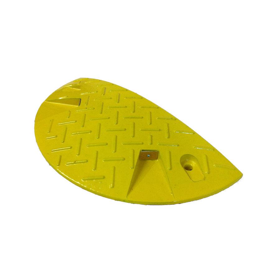 Žlutý plastový zpomalovací koncový práh - 20 km / hod