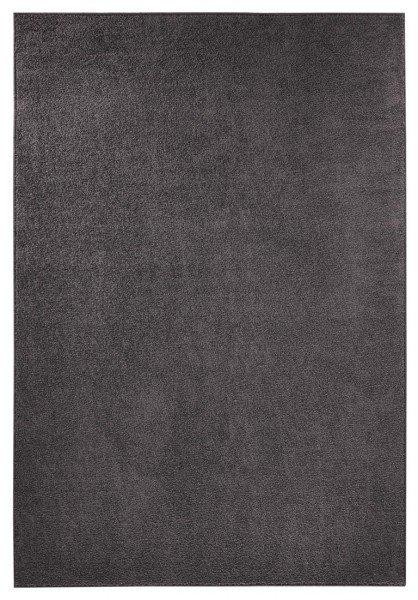 Černý kusový koberec běhoun - šířka 80 cm