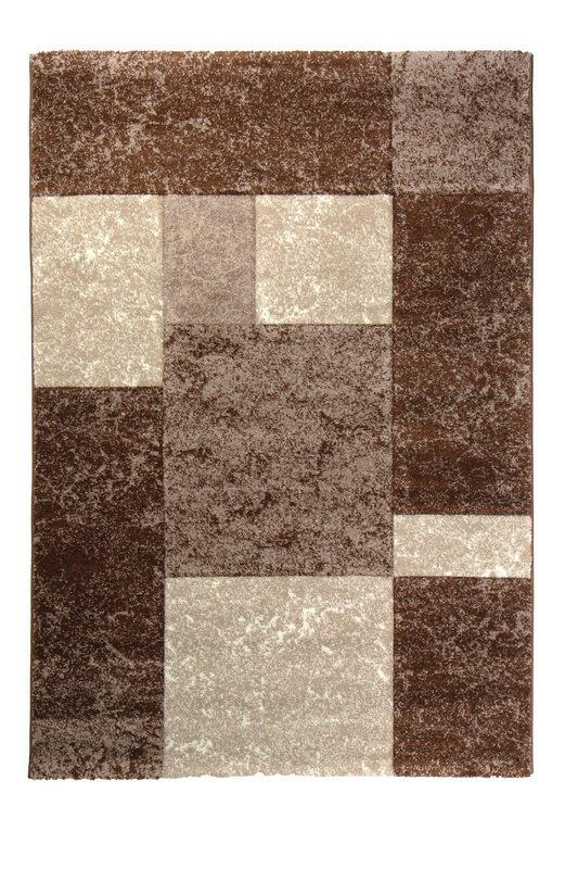 Hnědý kusový koberec Hawaii - délka 150 cm a šířka 80 cm