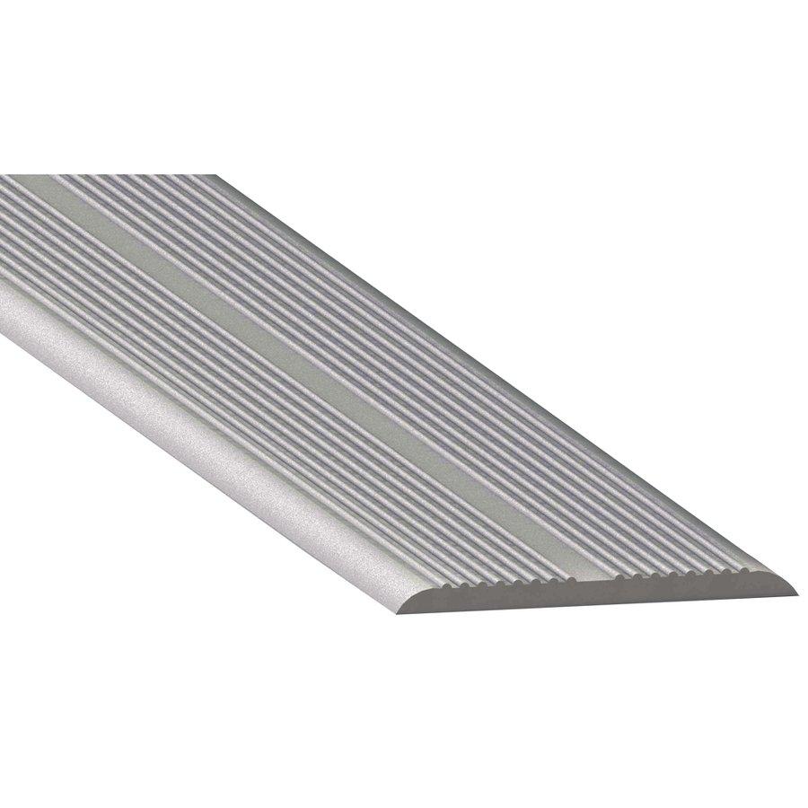 Čirá gumová samolepící schodová průhledná lišta - délka 5 m, šířka 3,3 cm a výška 0,25 cm