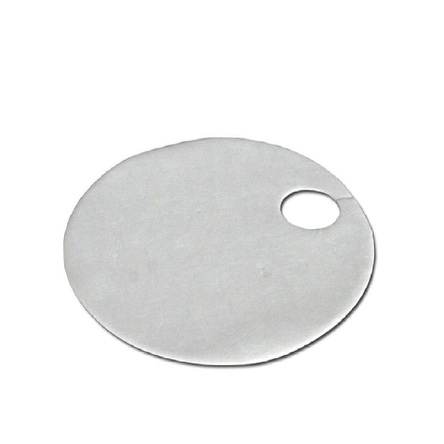 Hydrofobní sudová sorpční rohož - průměr 355 mm - 15 ks
