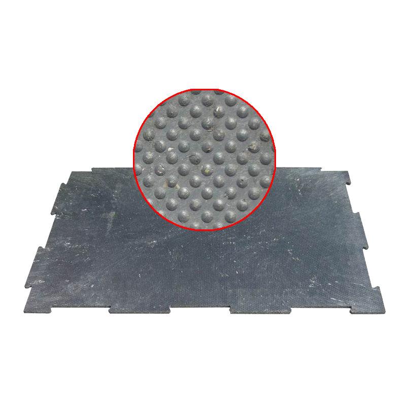 Plastová kuličková hladká podlahová deska - délka 116 cm, šířka 79 cm a výška 1,2 cm