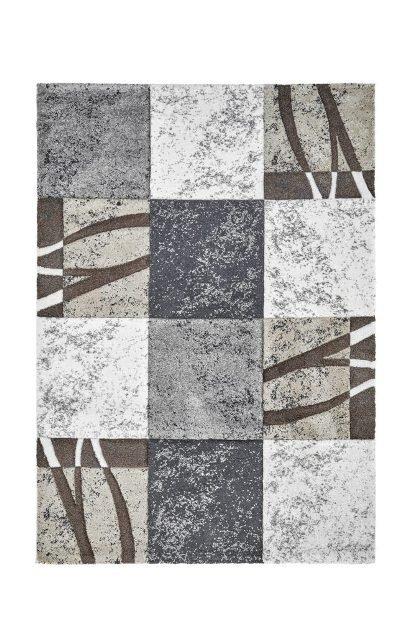 Šedý kusový koberec Broadway - délka 150 cm a šířka 80 cm