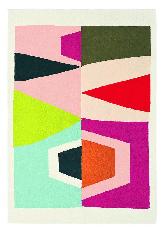 Různobarevný moderní kusový dětský koberec Xian - délka 200 cm a šířka 140 cm