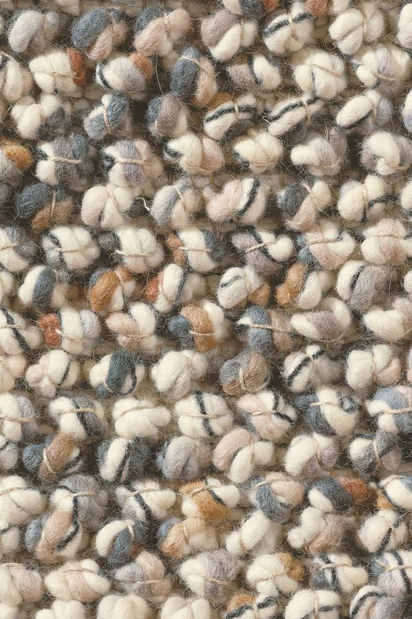 Béžový kusový luxusní koberec Marble