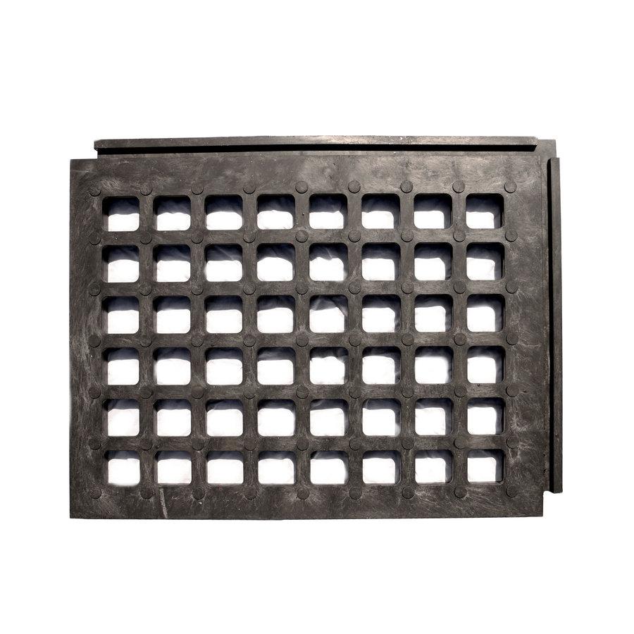 Plastový zátěžový podlahový zatravňovací rošt - délka 80 cm, šířka 60 cm a výška 4,3 cm