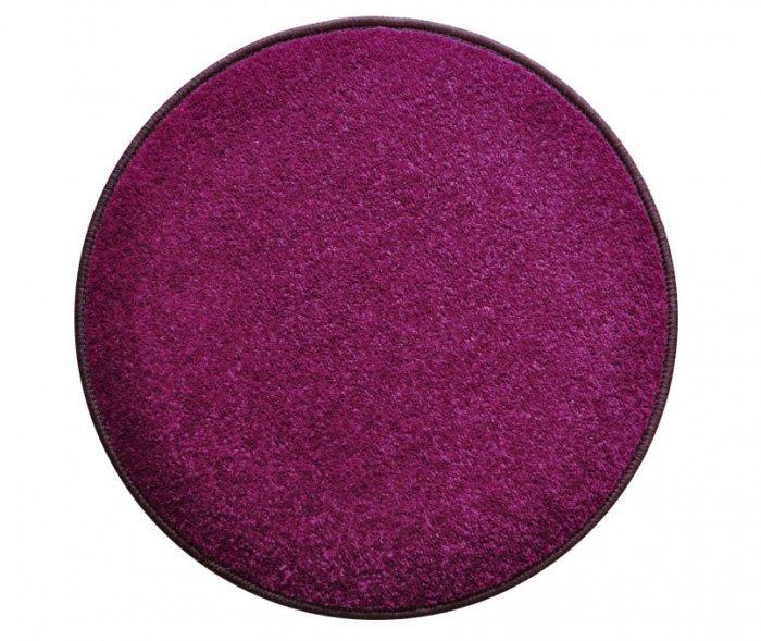 Fialový kusový koberec Eton