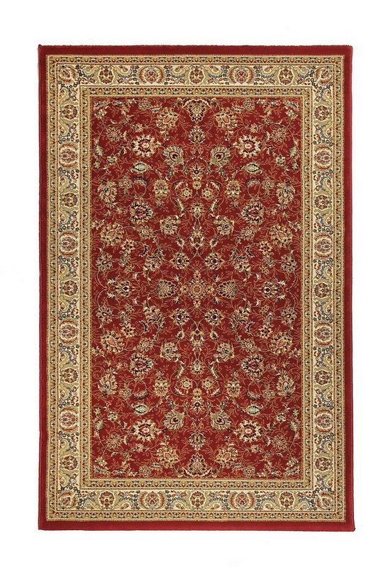Červený kusový orientální koberec Tashkent - délka 140 cm a šířka 80 cm
