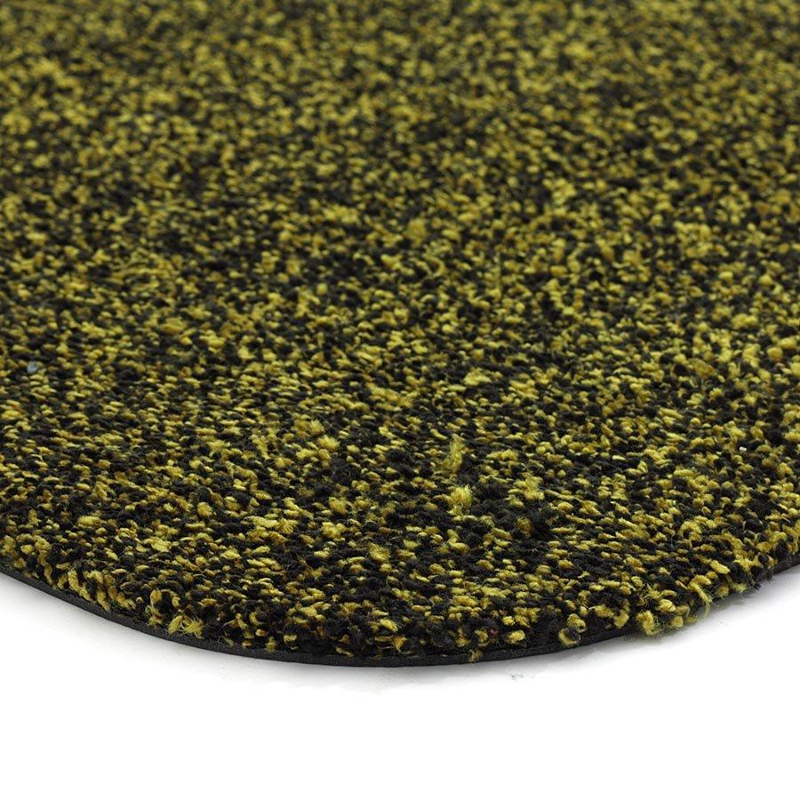 Zlatá metrážová čistící vnitřní vstupní pratelná rohož Majestic, FLOMA - délka 1 cm a výška 0,6 cm