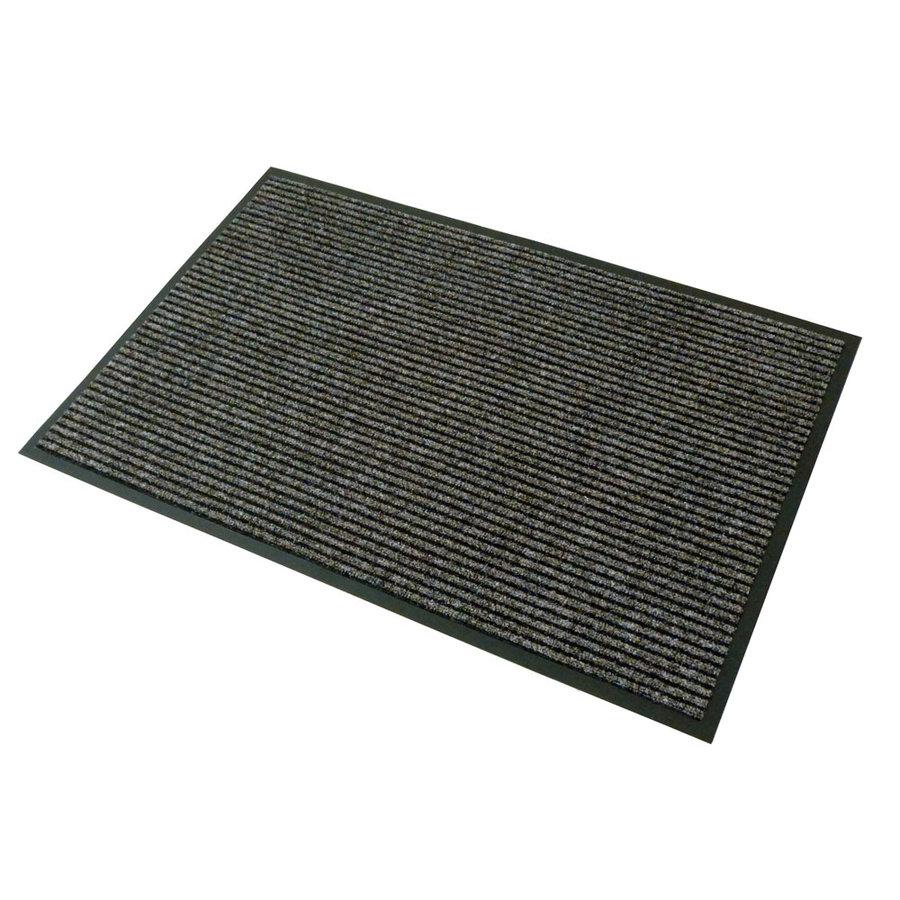 Hnědá textilní čistící vnitřní vstupní rohož - délka 120 cm a šířka 80 cm