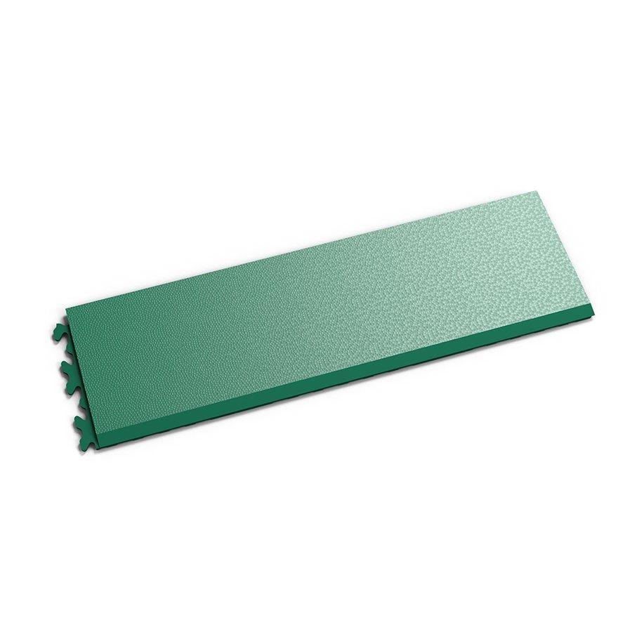 """Zelený vinylový plastový nájezd """"typ C"""" Invisible 2033 (hadí kůže), Fortelock - délka 46,8 cm, šířka 14,5 cm a výška 0,67 cm"""