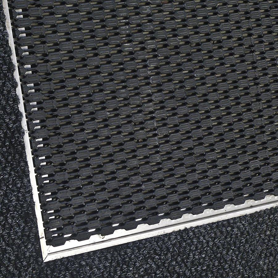 Hliníkový rám pro plastovou vstupní rohož Helix pro zapuštění do podlahy - šířka 2,7 cm a výška 1,3 cm (87653010)