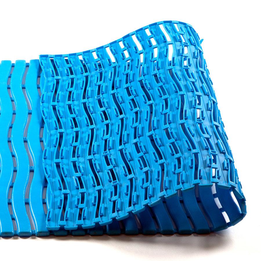Modrá metrážová bazénová rohož - šířka 60 cm a výška 0,9 cm