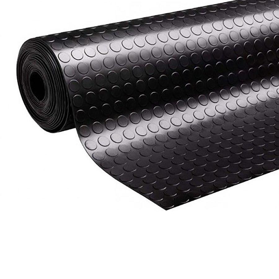Protiskluzová průmyslová podlahová guma Coins
