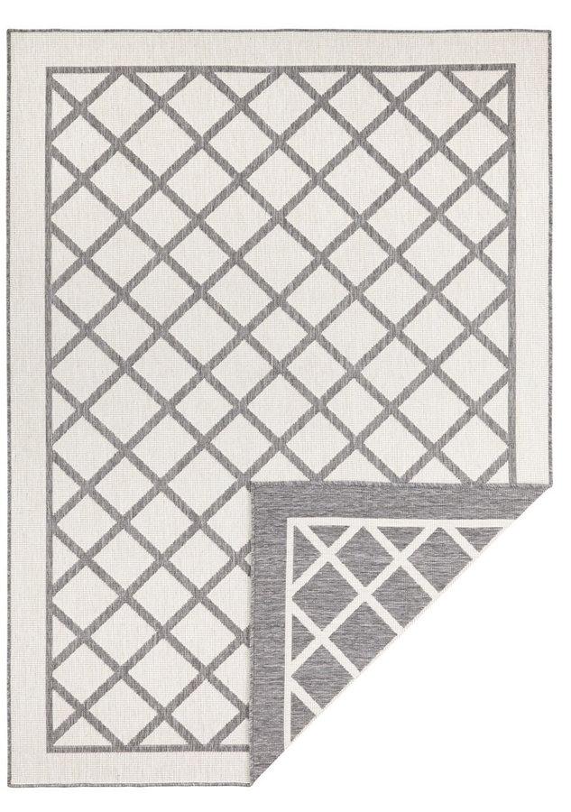 Šedý oboustranný moderní koberec Sydney, Twin-Supreme - délka 350 cm a šířka 80 cm