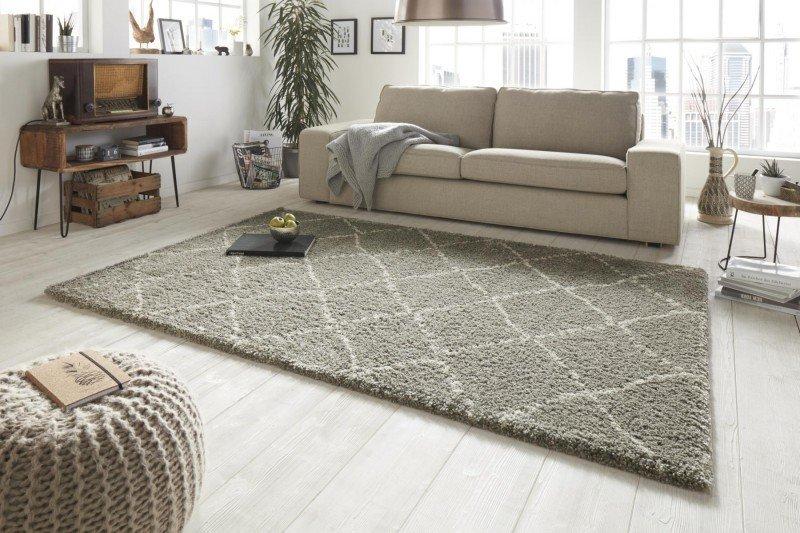 Šedý kusový moderní koberec Allure - délka 150 cm a šířka 80 cm