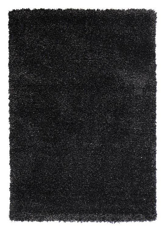 Černý kusový koberec Fusion