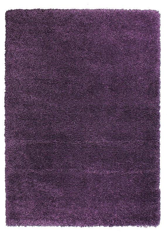 Fialový kusový koberec Fusion