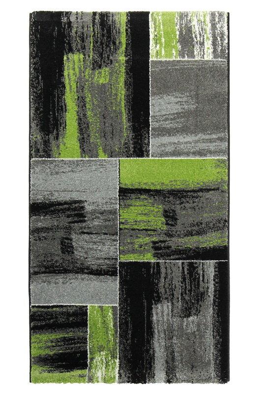 Zelený kusový moderní koberec Hawaii - délka 170 cm a šířka 120 cm