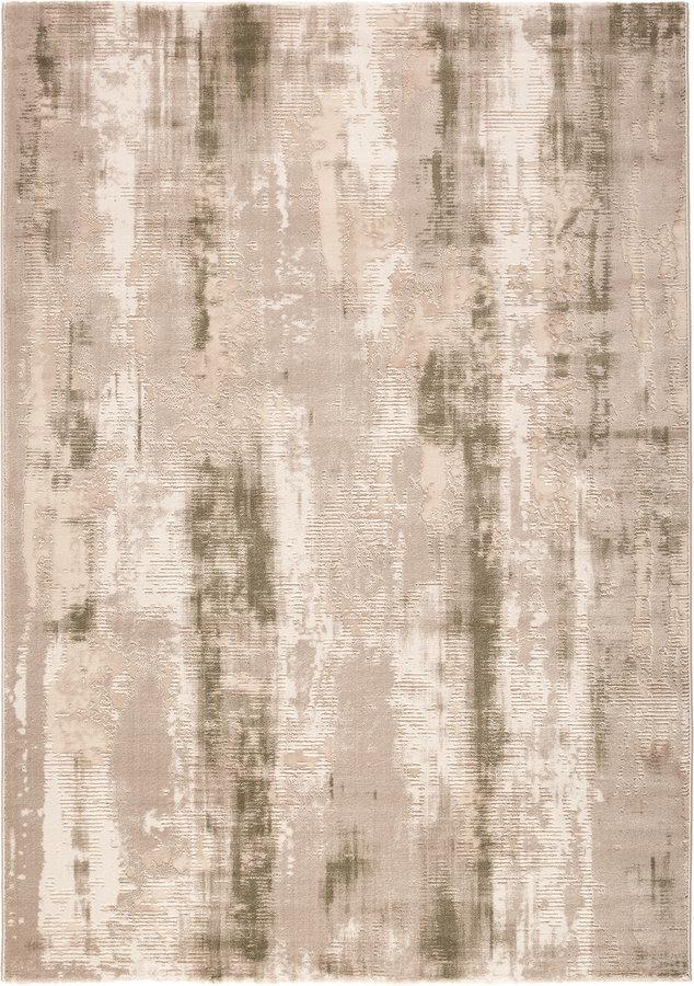 Béžový kusový moderní koberec Bolero