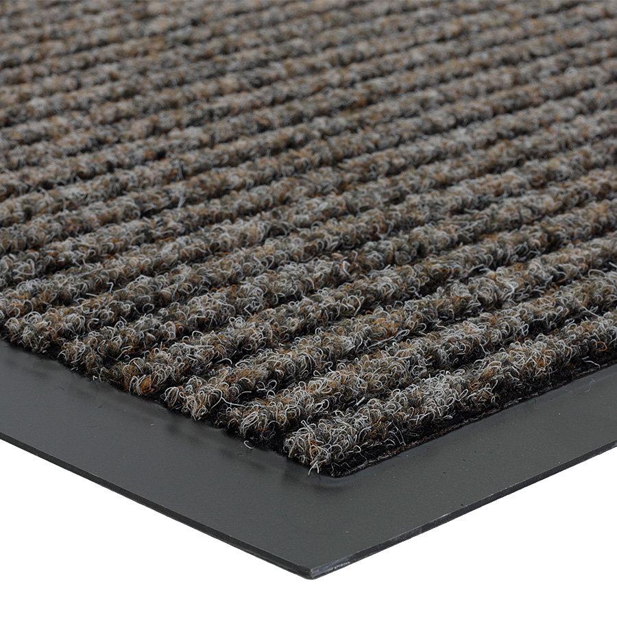 Hnědá čistící vnitřní vstupní rohož Everton, FLOMA - výška 0,6 cm