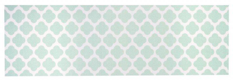 Modrý moderní kusový koberec běhoun Cook & Clean - délka 140 cm a šířka 45 cm