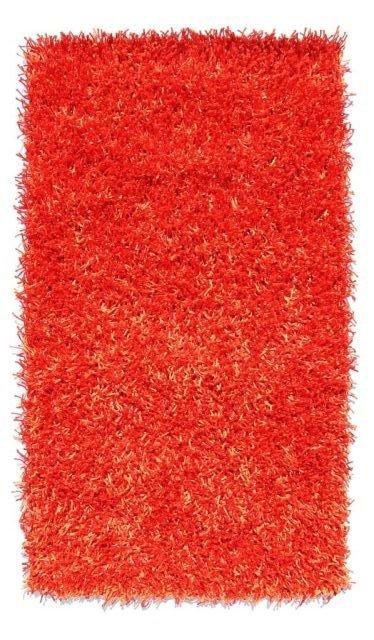 Červený kusový koberec Rosa - délka 110 cm a šířka 60 cm