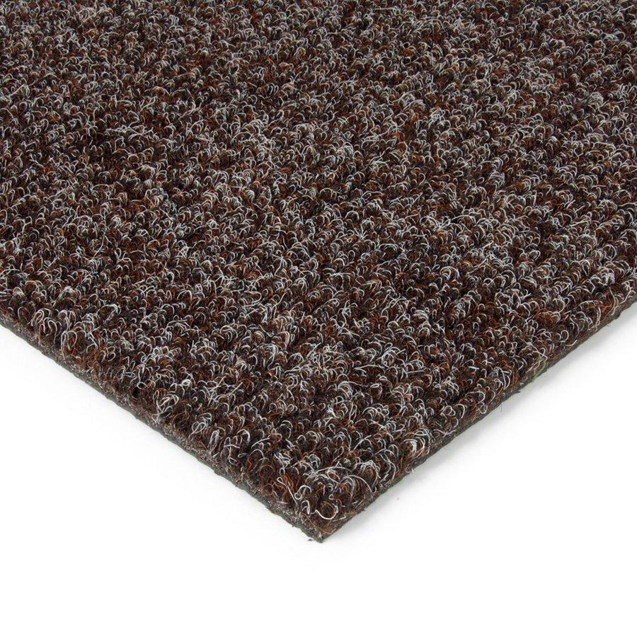 Hnědá kobercová vnitřní čistící zóna Catrine, FLOMAT - délka 200 cm, šířka 200 cm a výška 1,35 cm