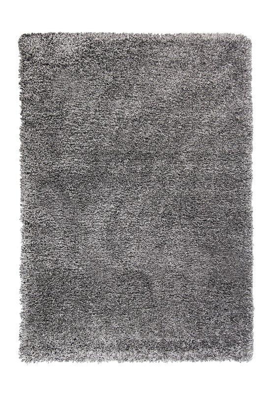 Šedý kusový koberec Fusion - délka 110 cm a šířka 60 cm