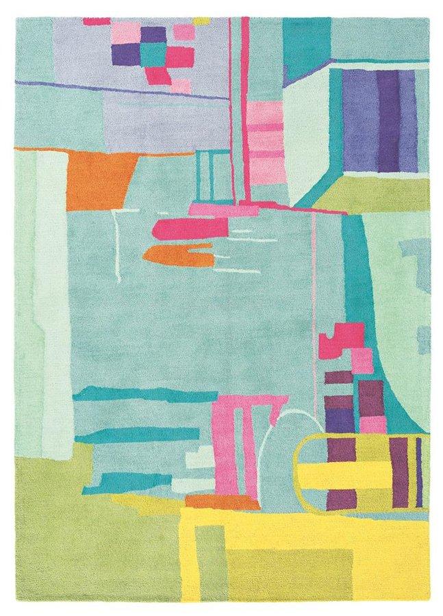 Různobarevný kusový koberec Bluebellgray
