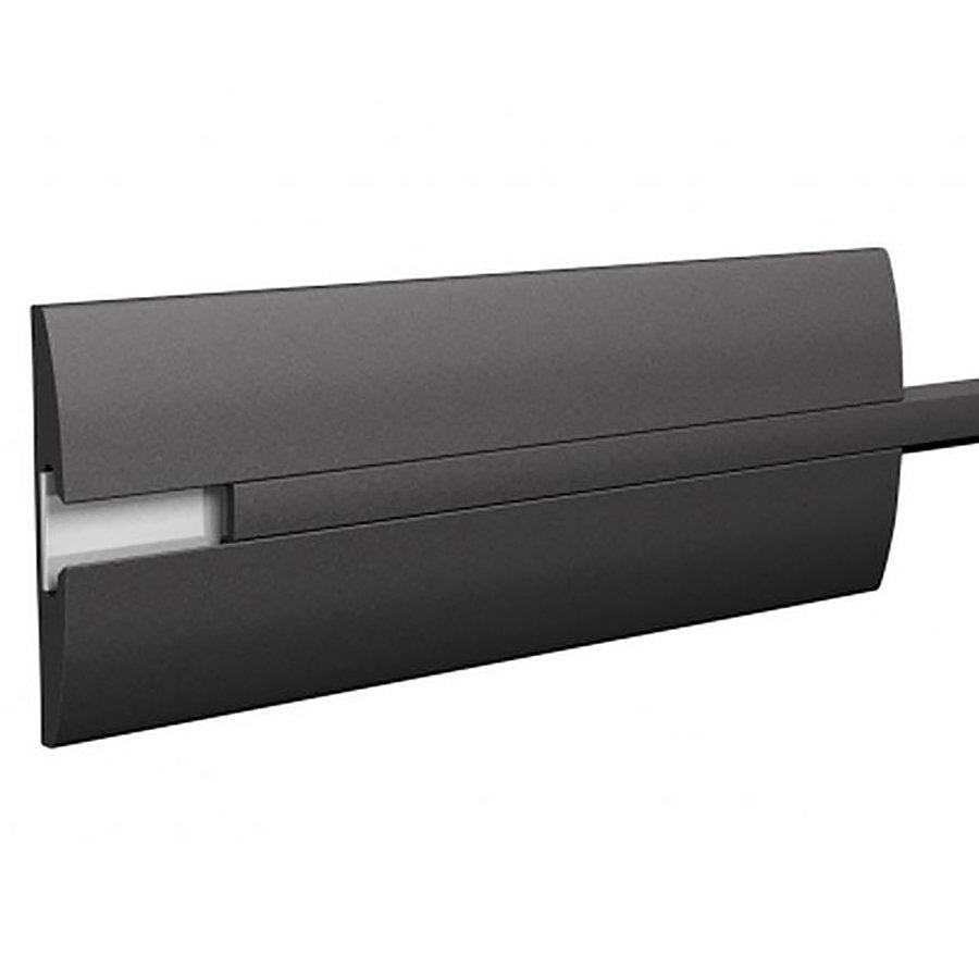Pryžový nárazový ochranný pás (svodidlo) FLOXO - délka 300 cm, výška 15 cm a tloušťka 2 cm